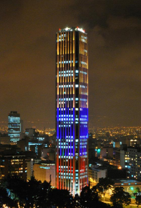 things to do in Bogota:Torre Colpatria