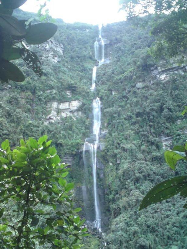 things to do in Bogota: Cascada La Chorrera