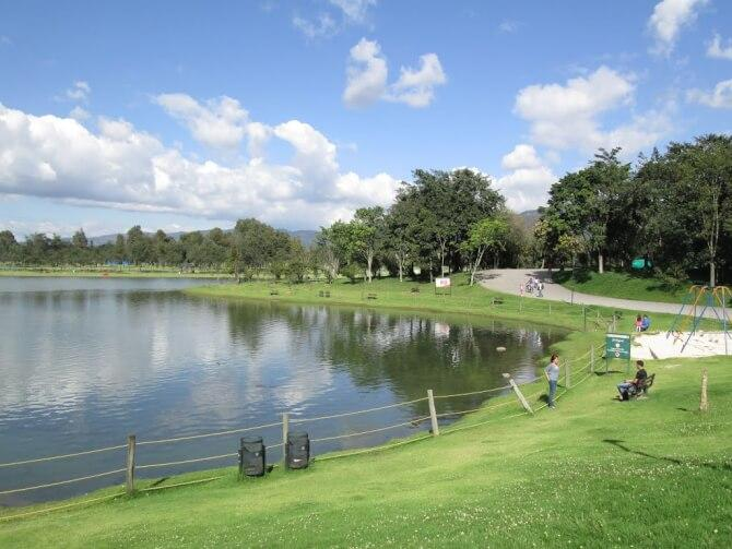 things to do in Bogota:Parque Central Simon Bolivar