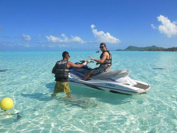 Things to do in Bora Bora:Jet Ski Adventure