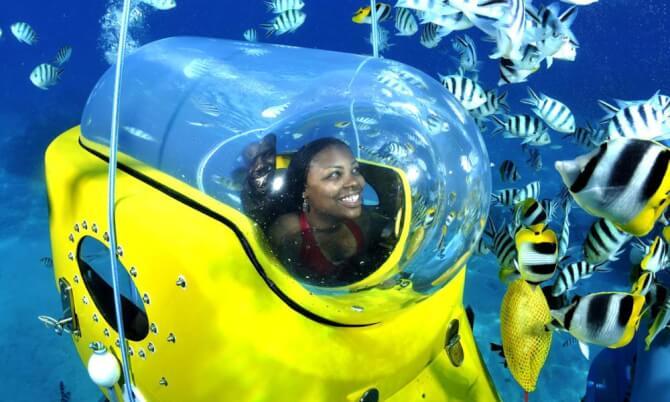 Things to do in Bora Bora:Aquabike adventure