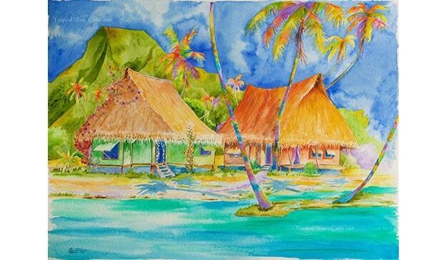 Things to do in Bora Bora:Bora Art Upstairs