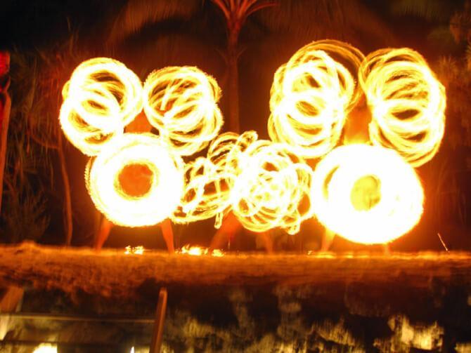 Things to do in Bora Bora:Polynesian Dinner Show