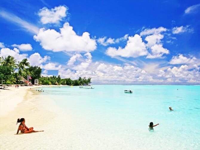Things to do in Bora Bora:Matira Beach