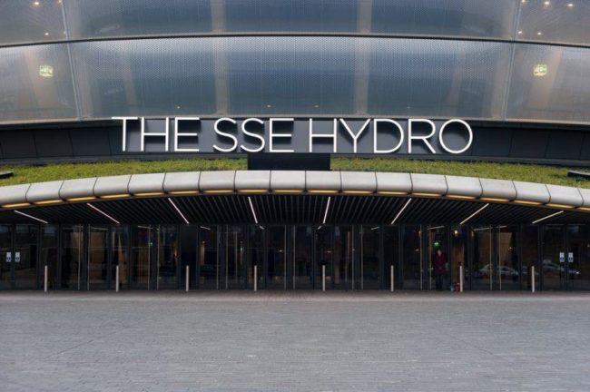 things to do in glasgow:SSE Hydro