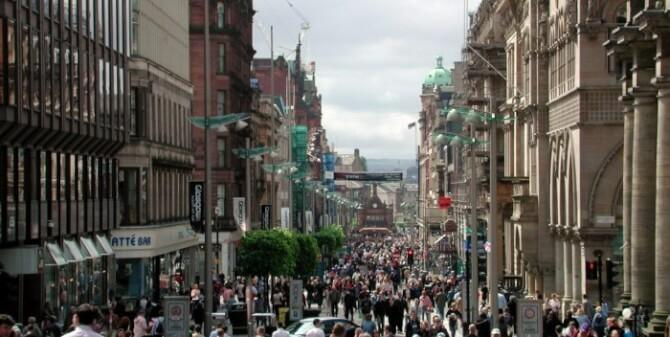 things to do in glasgow:Buchanan Street