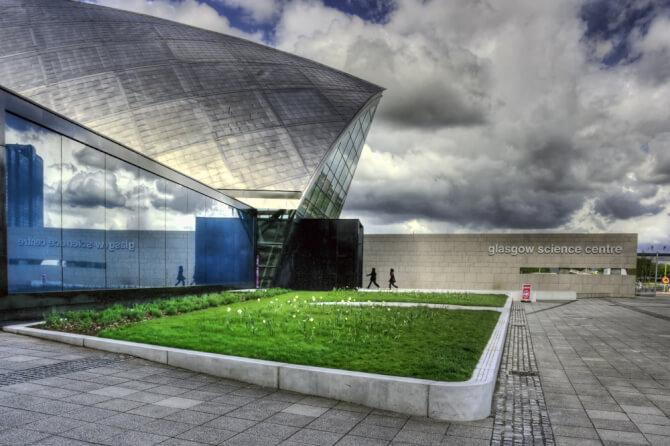 things to do in glasgow:Glasgow Science Centre