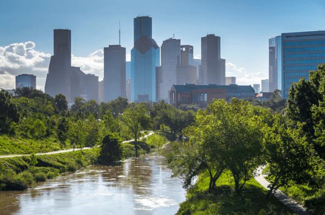 things to do in Houston:Buffalo Bayou