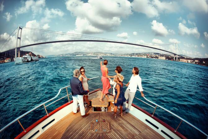 things to do in Istanbul:Bosphorus Cruise