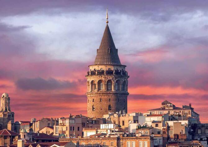 things to do in Istanbul:Galata Tower