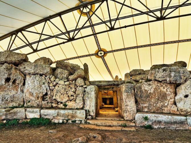 things to do in Malta:Mnajdra Temples