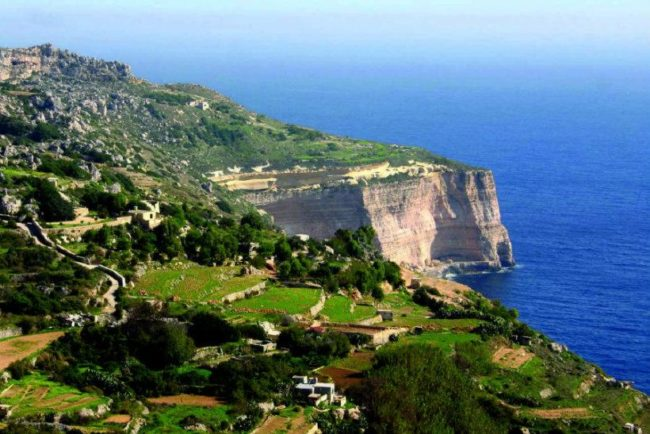 things to do in Malta:Dingli Cliffs