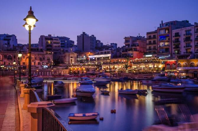 things to do in Malta:Spinola Bay