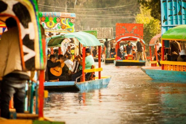 things to do in mexico city:Floating Gardens of Xochimilco