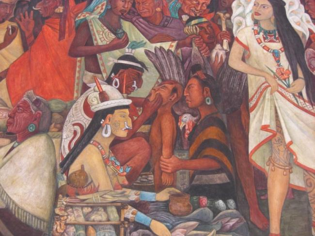 things to do in mexico city: Murales de Diego Rivera