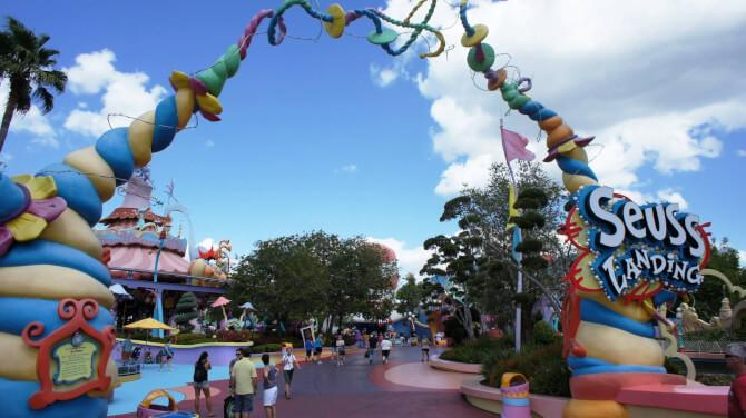 things to do in orlando:Seuss Landing at Universal's Islands of Adventure.