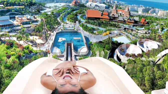 things to do in tenerife:Siam Park