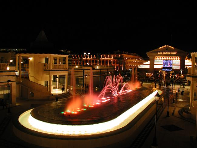 things to do in tenerife:Light and Music Fountain