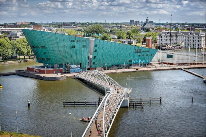 Top 20 things to do in Amsterdam: NEMO Science Museum
