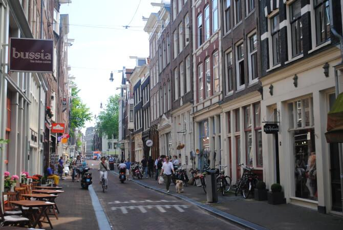 Top 20 things to do in Amsterdam: One of the streets of De Negen Straatjes