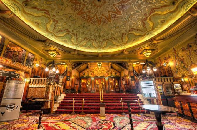 Top 20 things to do in Amsterdam: The lobby of Theater Tuschinski