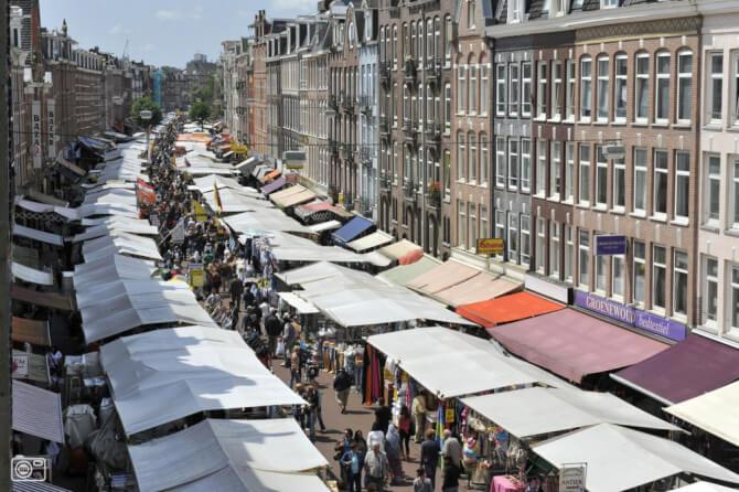 Top 20 things to do in Amsterdam: The Albert Cuyp Market in De Pijp