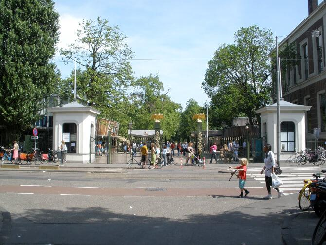 Top 20 things to do in Amsterdam: The entrance of the Natura Artis Magistra