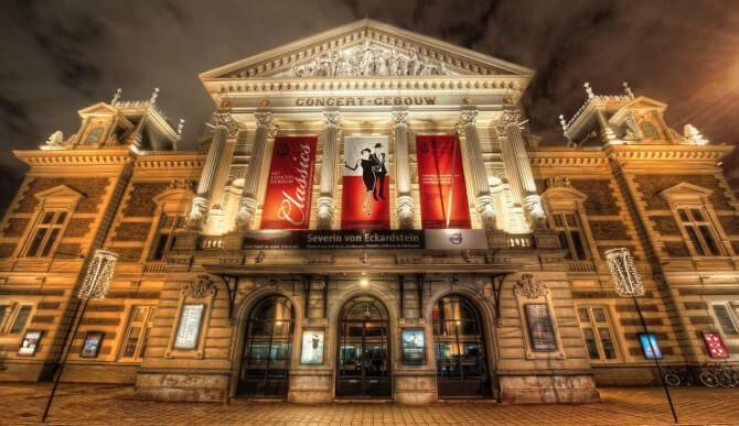 Top 20 things to do in Amsterdam: The outside of the Concertgebouw
