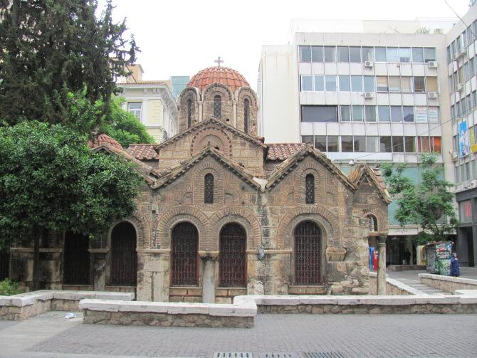 Top 20 things to do in Athens: Church of Panagia Kapnikarea