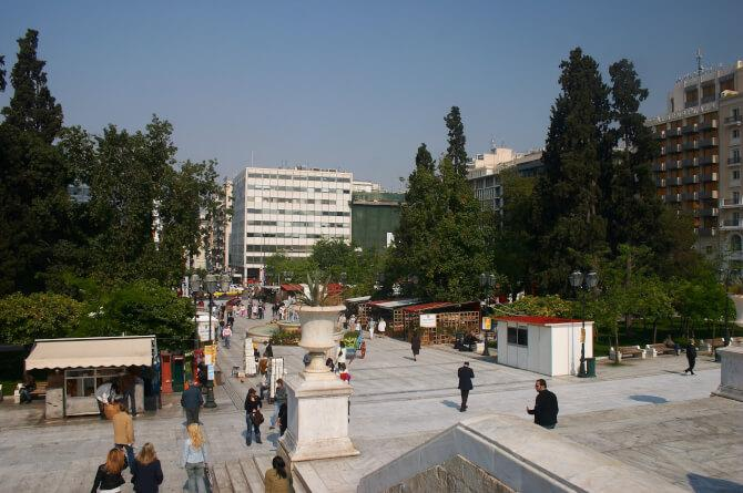 Top 20 things to do in Athens: The Syntagma Square