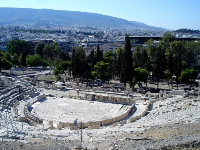 Top 20 things to do in Athens: The Theatre of Dionysus