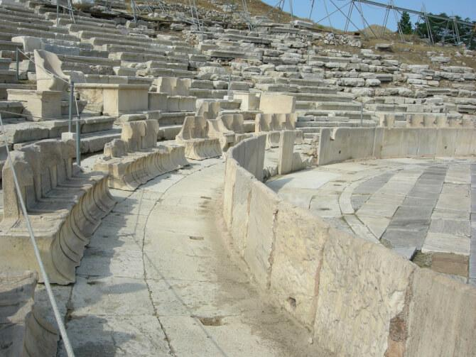 Top 20 things to do in Athens: The steps and thrones of the Theatre of Dionysus