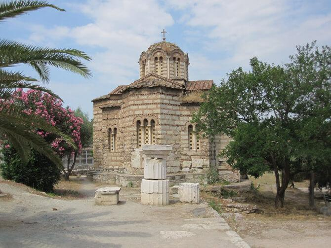 Top 20 things to do in Athens: The Church of the Holy Apostles