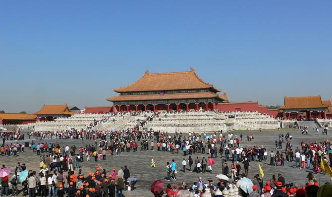 Top 20 things to do in Beijing: The main courtyard of the Forbidden City - a must see on the list of things to do in Beijing