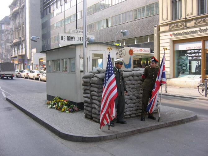 Top 20 things to do in Berlin: Checkpoint Charlie today