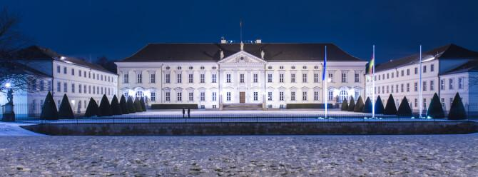 Top 20 things to do in Berlin: The Bellevue Palace at night