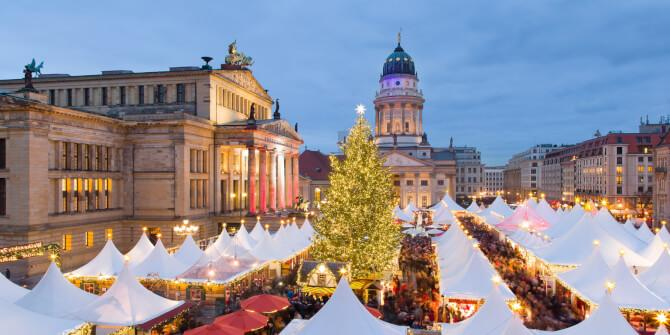 Top 20 things to do in Berlin: Christmas market at the Gendarmenmarkt