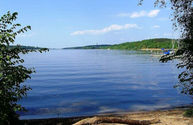 Top 20 things to do in Berlin: One of the large lakes at the Grunewald Forest