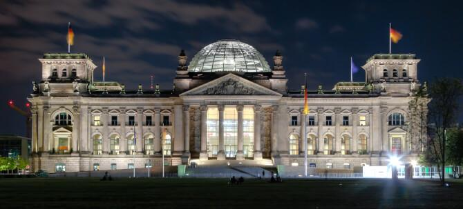Top 20 things to do in Berlin: The rebuilt Reichstag at night