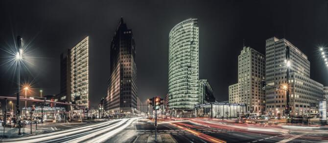 Top 20 things to do in Berlin: Potsdamer Platz at night