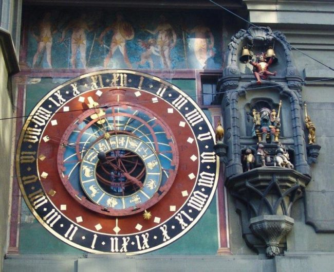 Top 20 things to do in Bern: Astronomical clock of Zytglogge