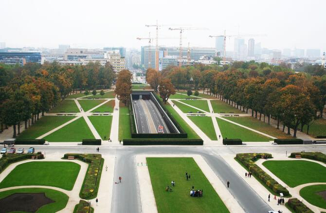 Top 20 things to do in Brussels: Part of the Cinquantenaire park