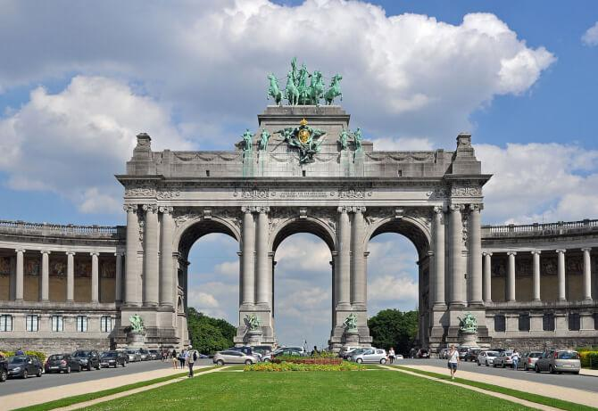 Top 20 things to do in Brussels: Arcade du Cinquantenaire