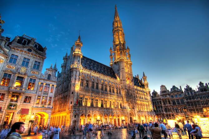 Top 20 things to do in Brussels: Town Hall of Brussels