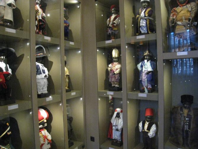 Top 20 things to do in Brussels: Some of the costumes used on the Manneken Pis