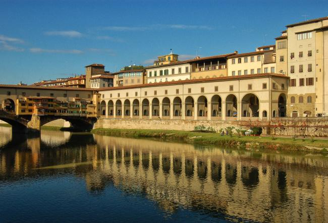 Top 20 things to do in Florence: Part of the Vasari Corridor