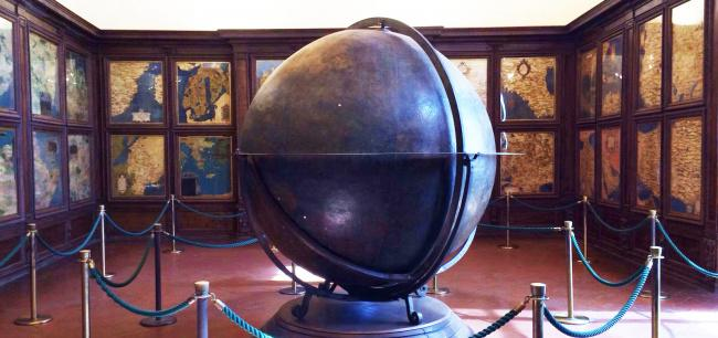 Top 20 things to do in Florence: Medici Hall of Maps