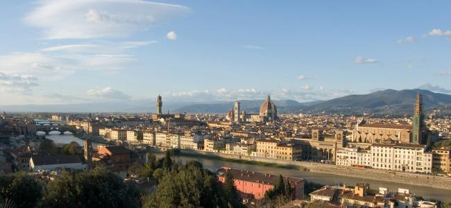 Top 20 things to do in Florence: View from the Piazzale Michelangelo