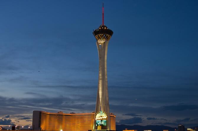 Top 20 things to do in Las Vegas: The tower of the Stratosphere Las Vegas