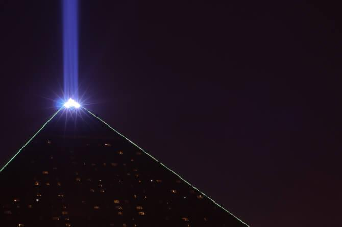 Top 20 things to do in Las Vegas: The Luxor Sky Beam